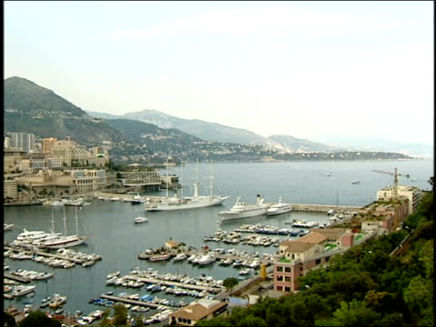 broll of jet ski rider in monte carlo - monte carlo stock videos & royalty-free footage