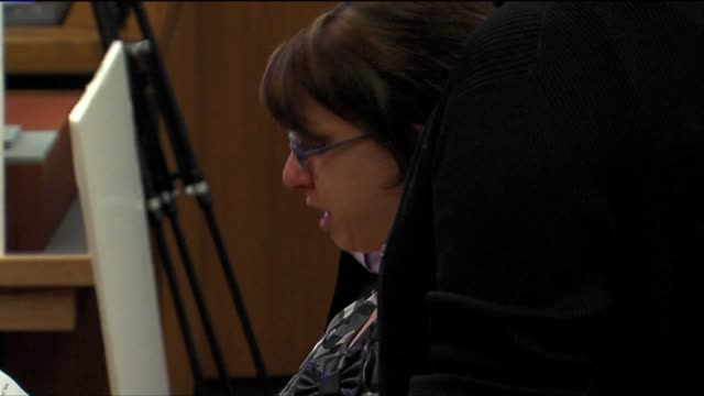 BRoll of Michelle Knight in Court
