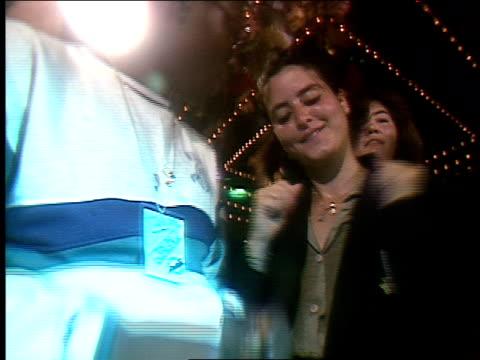 roll of people dancing in cruise nightclub in 1990 - 1990 stock videos & royalty-free footage
