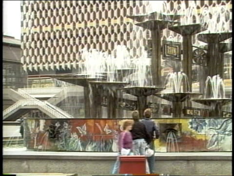 roll of sites in 1988 soviet east berlin - east germany stock videos & royalty-free footage