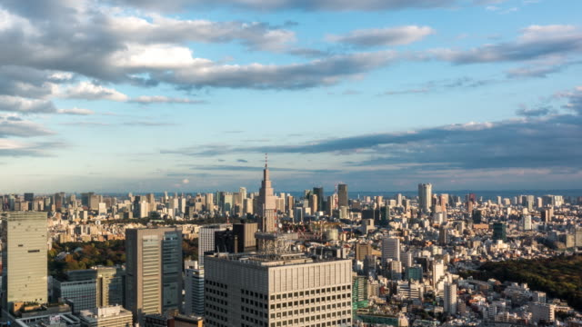 b-roll time lapse of busy streets in tokyo, japan - crossroad stock videos & royalty-free footage