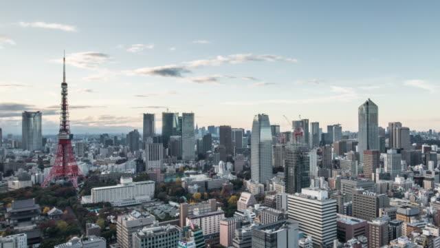 vídeos y material grabado en eventos de stock de b-roll time lapse of busy streets in tokyo, japan - zona financiera