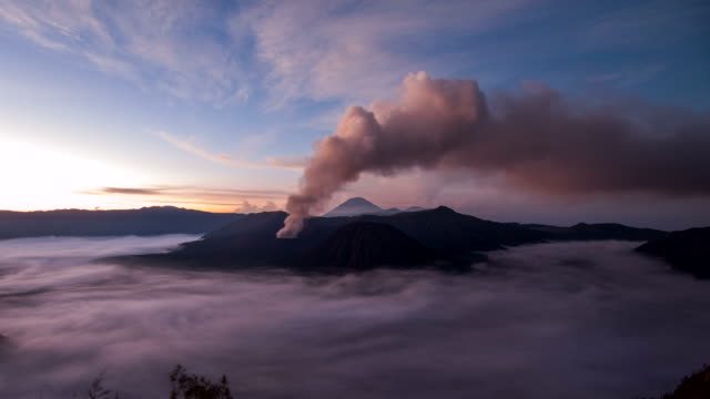 Bromo Volcano at Sunset