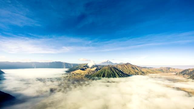 Den Bromo-Vulkan in Java, Timelapse HD-Videos