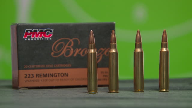 Bronze 223 Remington 55 Grain Bullets with Box in Chicago on May 24 2018