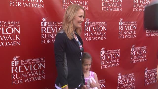 brooke anderson at 21st annual eif revlon run walk for women in los angeles, ca 5/10/14 - レブロン点の映像素材/bロール