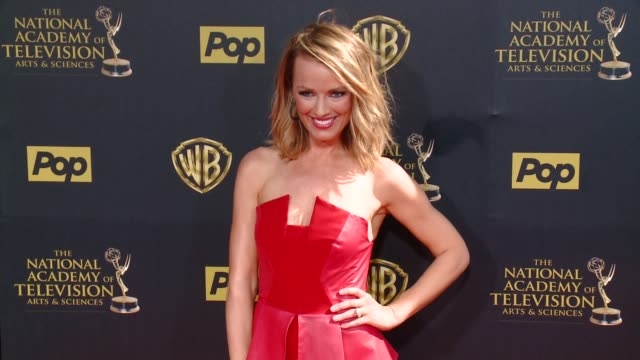 Brooke Anderson at 42nd Annual Daytime EMMY Awards at Warner Bros Studios on April 26 2015 in Burbank California