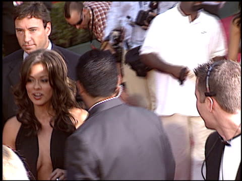 brooke burke at the 2004 espy awards at the kodak theatre in hollywood, california on july 14, 2004. - espy awards stock videos & royalty-free footage