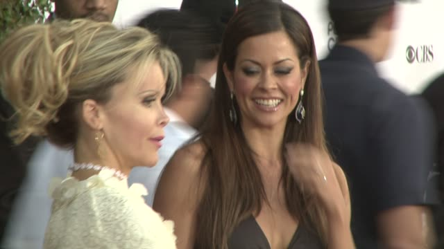 brooke burke at the 35th annual people's choice awards at los angeles ca. - people's choice awards stock-videos und b-roll-filmmaterial