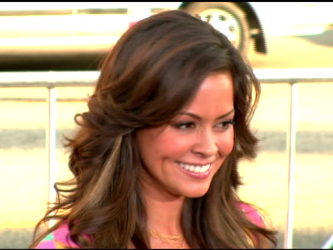 brooke burke at the batman begins premiere at grauman's chinese theatre in hollywood california on june 6 2005 - brooke burke stock videos and b-roll footage