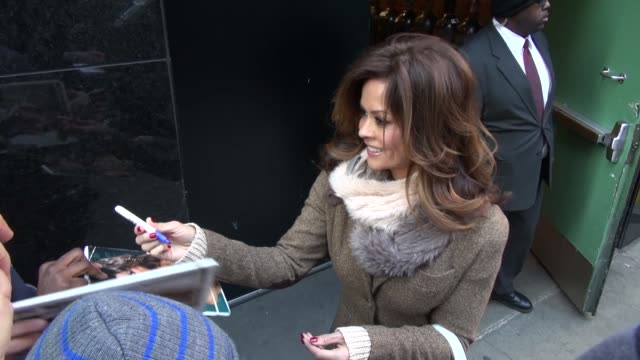 brooke burke at the 'good morning america' studio brooke burke at the 'good morning america' studio on january 08 2013 in new york new york - brooke burke stock videos and b-roll footage