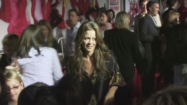 brooke burke at the high school musical 3 senior year premiere at los angeles ca - brooke burke stock videos and b-roll footage