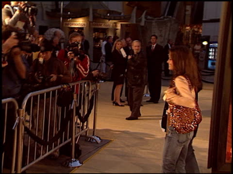 brooke burke at the 'sahara' premiere at grauman's chinese theatre in hollywood california on april 4 2005 - brooke burke stock videos and b-roll footage