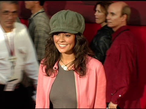 brooke burke at the 'the incredibles' premiere at the el capitan theatre in hollywood, california on october 25, 2004. - el capitan theatre stock videos & royalty-free footage