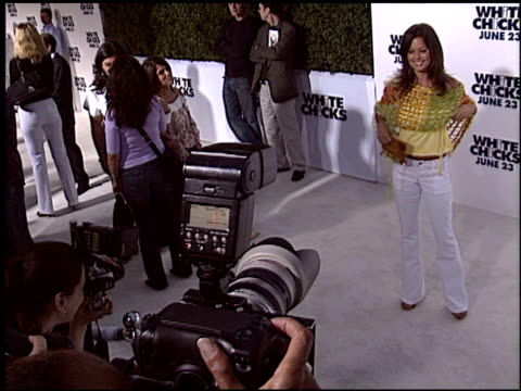 brooke burke at the 'white chicks' premiere on june 16 2004 - brooke burke stock videos and b-roll footage