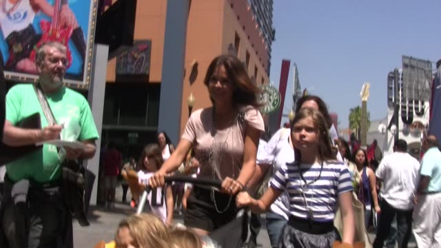 brooke burke kids at universal city walk at the celebrity sightings in los angeles at los angeles ca - brooke burke stock videos and b-roll footage