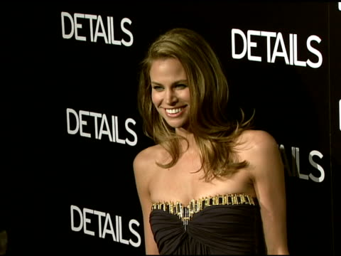 brooke burns at the details magazine celebrates 'mavericks 2008' at null in beverly hills, california on march 21, 2008. - brooke burns stock videos & royalty-free footage