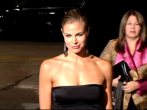 brooke burns at the 'into the blue' premiere at the mann village theatre in westwood, california on september 21, 2005. - brooke burns stock videos & royalty-free footage