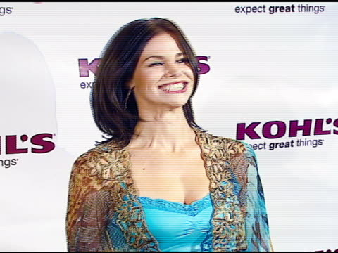 brooke burns at the kohl's and conde nast media group present the kohl's transformation nation fall fashion show at santa monica pier in santa... - conde nast media group stock videos & royalty-free footage