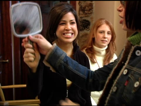 brooke burns at the levi ranch at the sundance film festival at levi ranch in park city, utah on january 23, 2005. - brooke burns stock videos & royalty-free footage