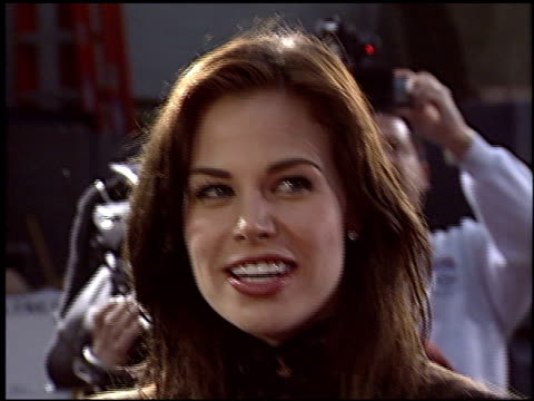 brooke burns at the premiere of 'the whole ten yards' at grauman's chinese theatre in hollywood, california on april 7, 2004. - brooke burns stock videos & royalty-free footage