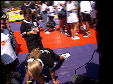 brooke burns at the shaqtacular 3 on september 19, 1998. - brooke burns stock videos & royalty-free footage