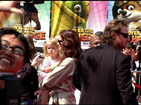 Brooke Shields and family at the 'Over The Hedge' Los Angeles Premiere on April 30 2006
