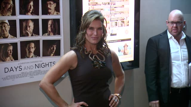 Brooke Shields at Days And Nights New York Premiere at IFC Center on September 25 2014 in New York City