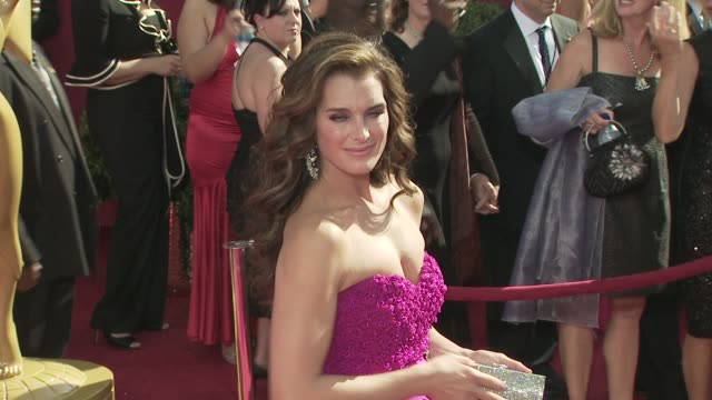 Brooke Shields at the 60th Primetime Emmy Awards at Los Angeles CA
