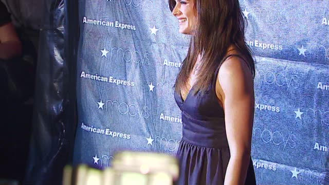 Brooke Shields at the Macy's Passport Gala 2006 at Santa Monica Airport's Barker Hanger in Santa Monica California on September 28 2006