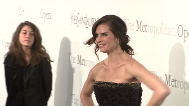 Brooke Shields at the The Metropolitan Opera's 125th Anniversary Gala at New York NY