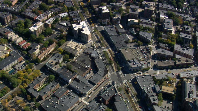 Brookline - Aerial View - Massachusetts,  Middlesex County,  United States