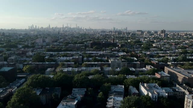 brooklyn at sunset - brooklyn new york stock videos & royalty-free footage