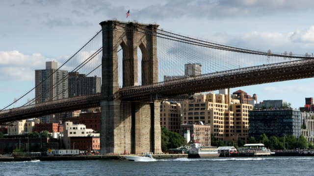 Brooklyn Bridge en Manhattan Bridge