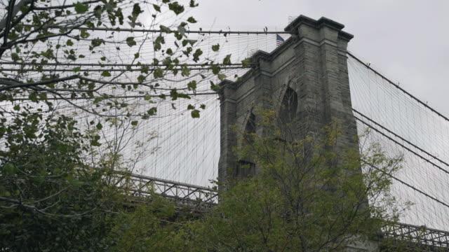 brooklyn bridge establishing - 少於10秒 個影片檔及 b 捲影像