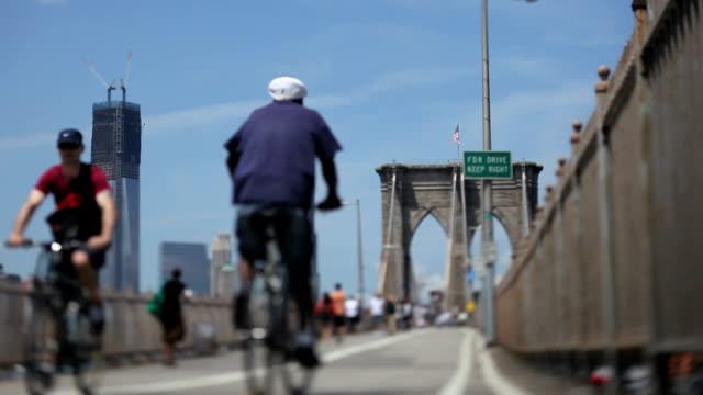 Brooklyn Bridge, NYC (Tilt shift lens)
