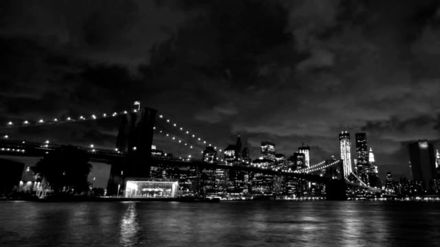 brooklyn bridge pan - standing out from the crowd stock videos and b-roll footage