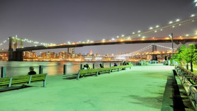 vídeos y material grabado en eventos de stock de lapse brooklyn bridge park pier 1 manhattan skyline view of the brooklyn bridge and manhattan bridge brooklyn new york city usa time lapse brooklyn... - 2013