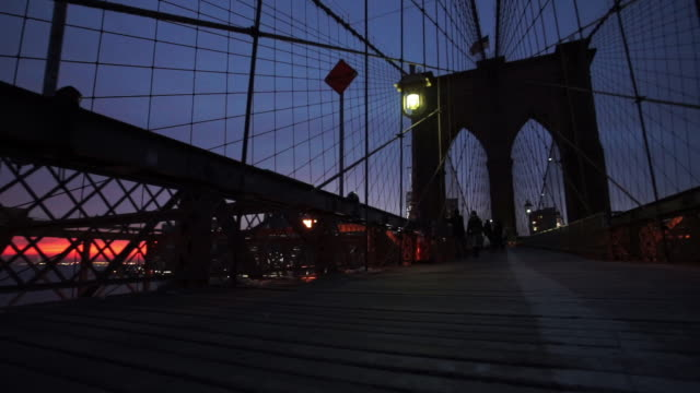 brooklyn bridge - brooklyn bridge bildbanksvideor och videomaterial från bakom kulisserna