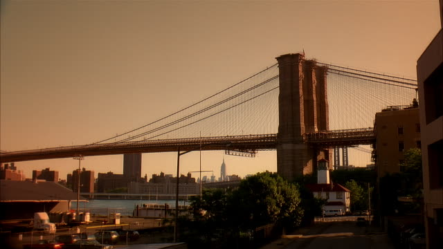 ms brooklyn brigde, new york city, usa - real time footage stock videos & royalty-free footage