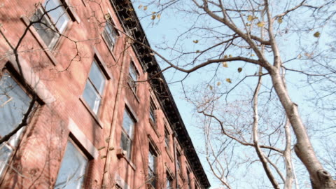 brooklyn brownstone - apartment stock videos & royalty-free footage