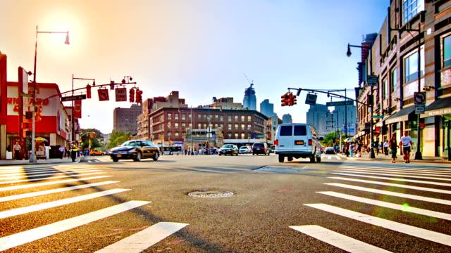 ブルックリンの交差点 - ニューヨーク州 ブルックリン点の映像素材/bロール