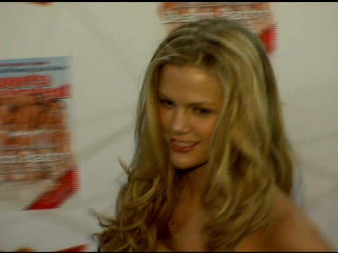 brooklyn decker at the 2006 sports illustrated swimsuit issue photocall at crobar in new york new york on february 14 2006 - sports illustrated swimsuit issue stock videos & royalty-free footage