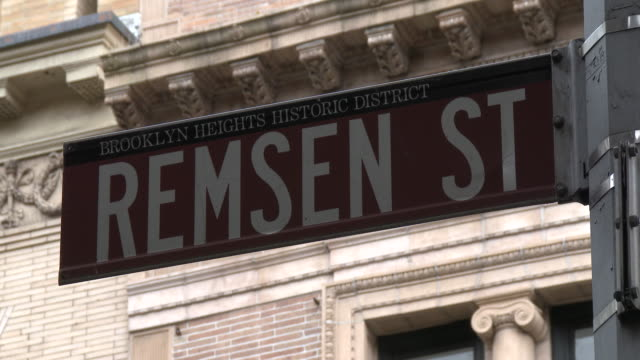 Brooklyn Heights Historic District - Remsen Street Sign