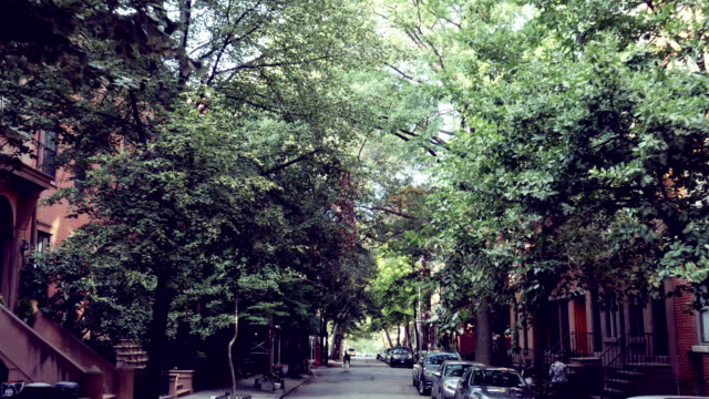 brooklyn heights, ny - townhouse stock videos & royalty-free footage