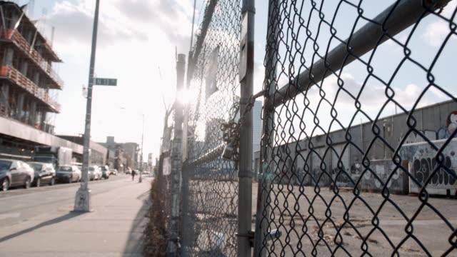 vídeos de stock, filmes e b-roll de brooklyn sunrise - williamsburg new york