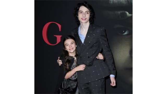 """brooklynn prince and finn wolfhard attend the premiere of universal pictures' """"the turning"""" at tcl chinese theatre on january 21, 2020 in hollywood,... - tcl chinese theatre stock videos & royalty-free footage"""