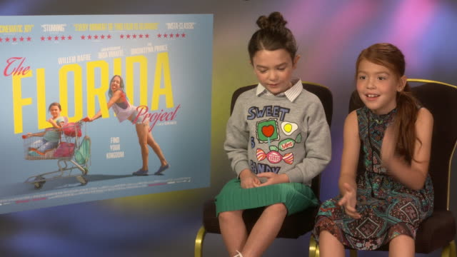 INTERVIEW Brooklynn Prince Valeria Cotto on Bria Vinaite being like her real mum on set at 'The Florida Project' Interview 61st BFI London Film...