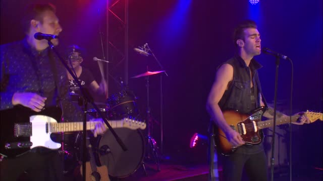 Brooklyn's breakout band American Authors brought their indie pop rock sound to the JBTV stage with their song 'Home'