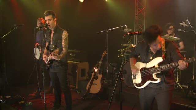 Brooklyn's breakout band American Authors brought their indie pop rock sound to the JBTV stage with their song 'Hit It'